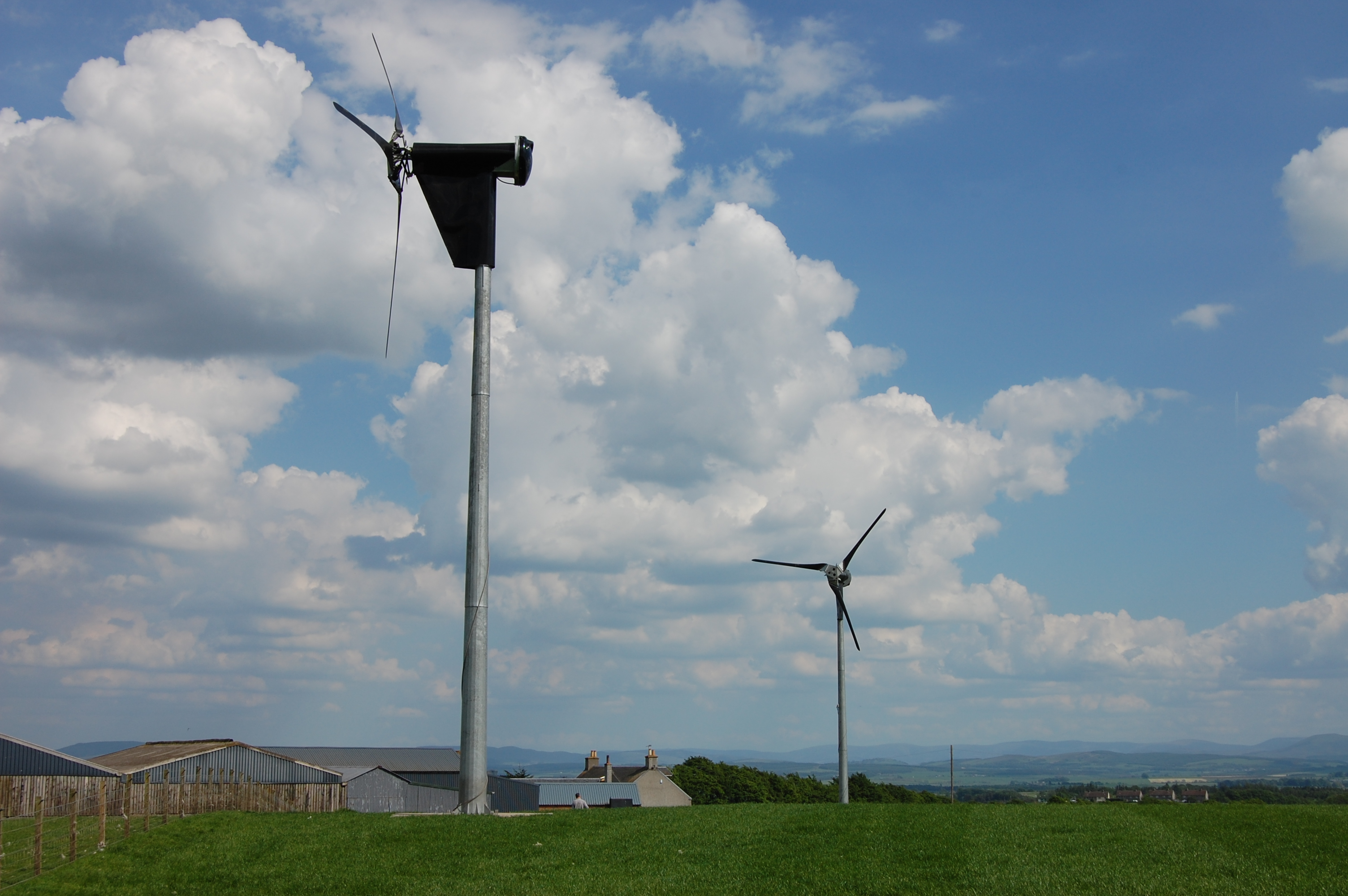The Kingspan KW6 6kW Wind Turbine