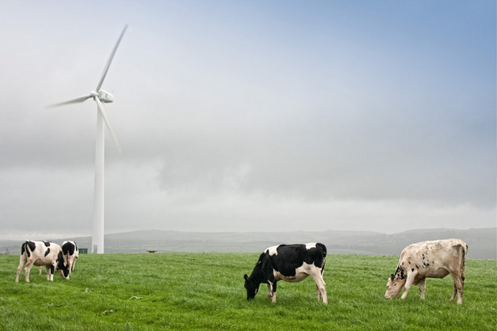 X29 wind turbine at Great Tredinnick, Cornwall
